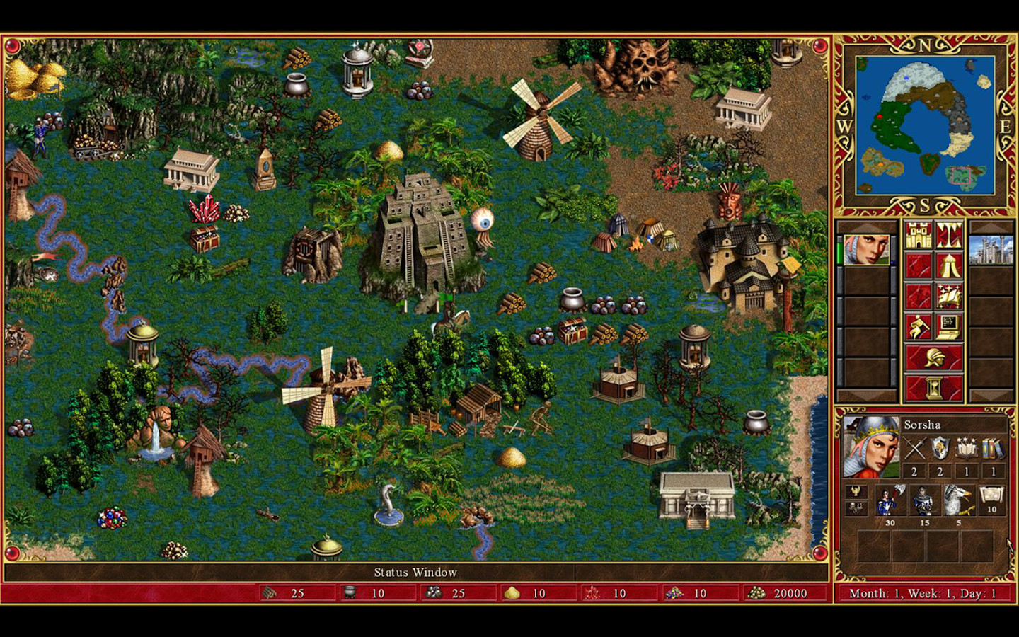 Nice Images Collection: Heroes Of Might And Magic III Desktop Wallpapers