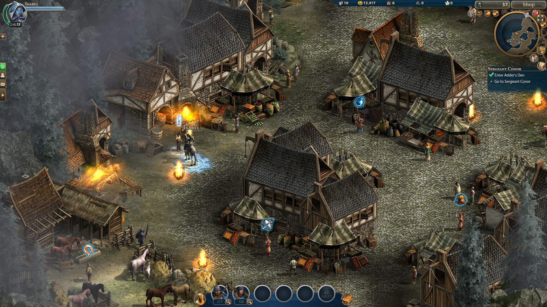 Nice wallpapers Heroes Of Might And Magic Online 1920x1080px