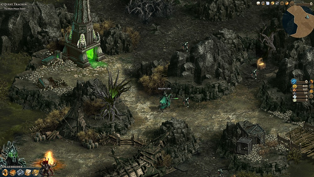 High Resolution Wallpaper | Heroes Of Might And Magic Online 1000x563 px