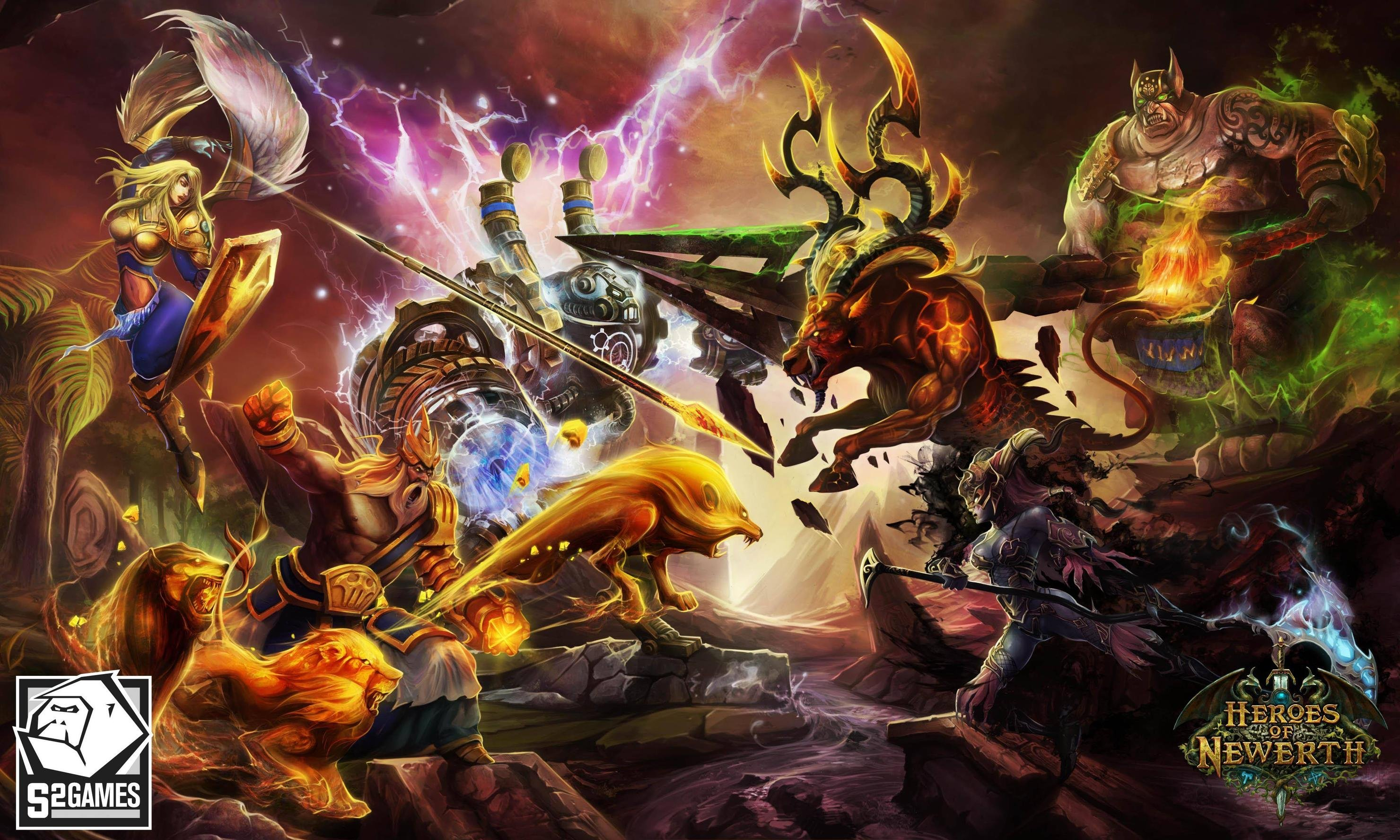 HQ Heroes Of Newerth Wallpapers | File 777.03Kb