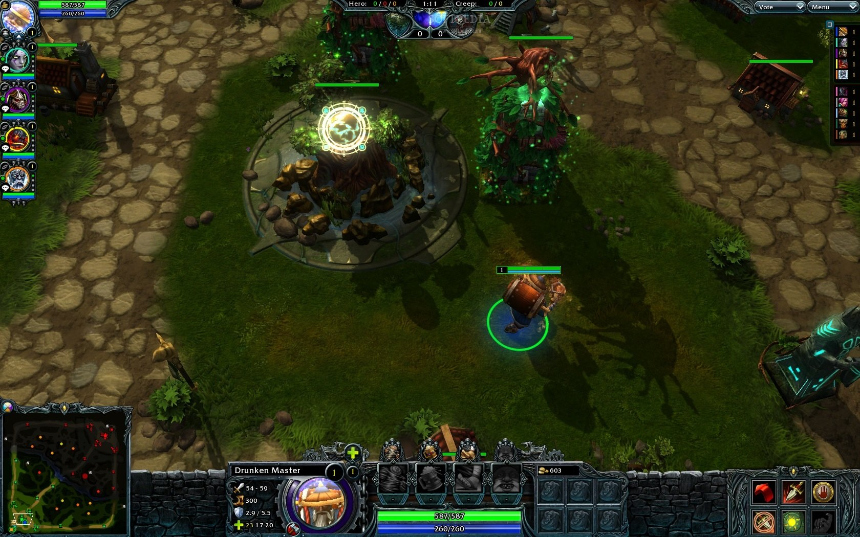 1680x1050 > Heroes Of Newerth Wallpapers