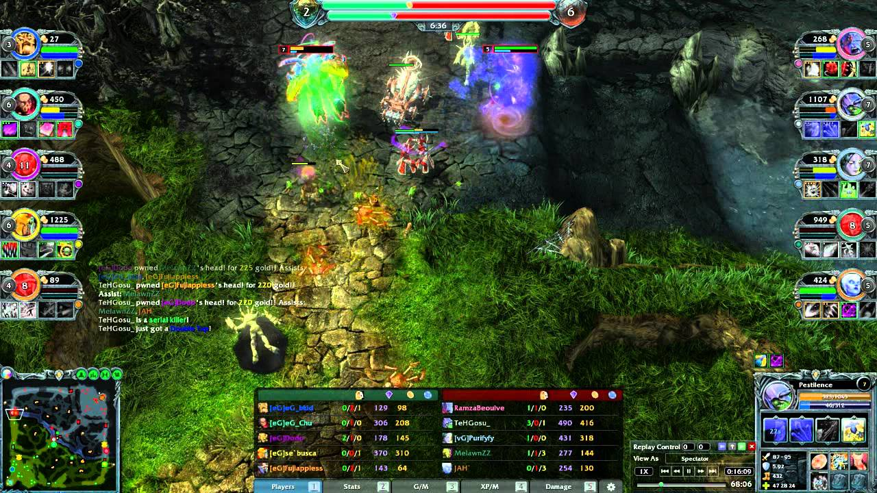 Heroes Of Newerth Backgrounds on Wallpapers Vista