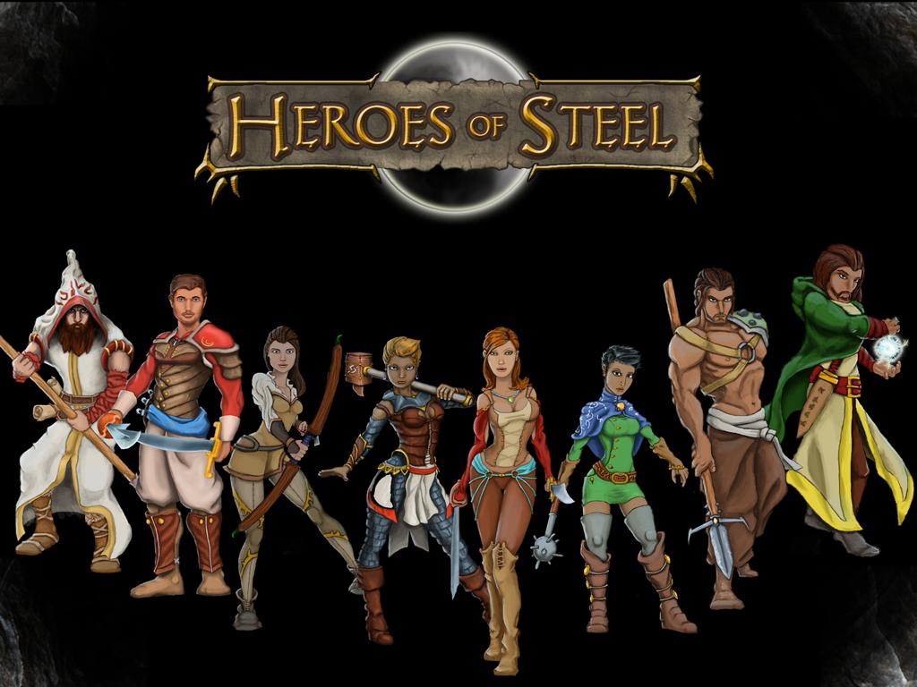 1024x768 > Heroes Of Steel RPG Wallpapers
