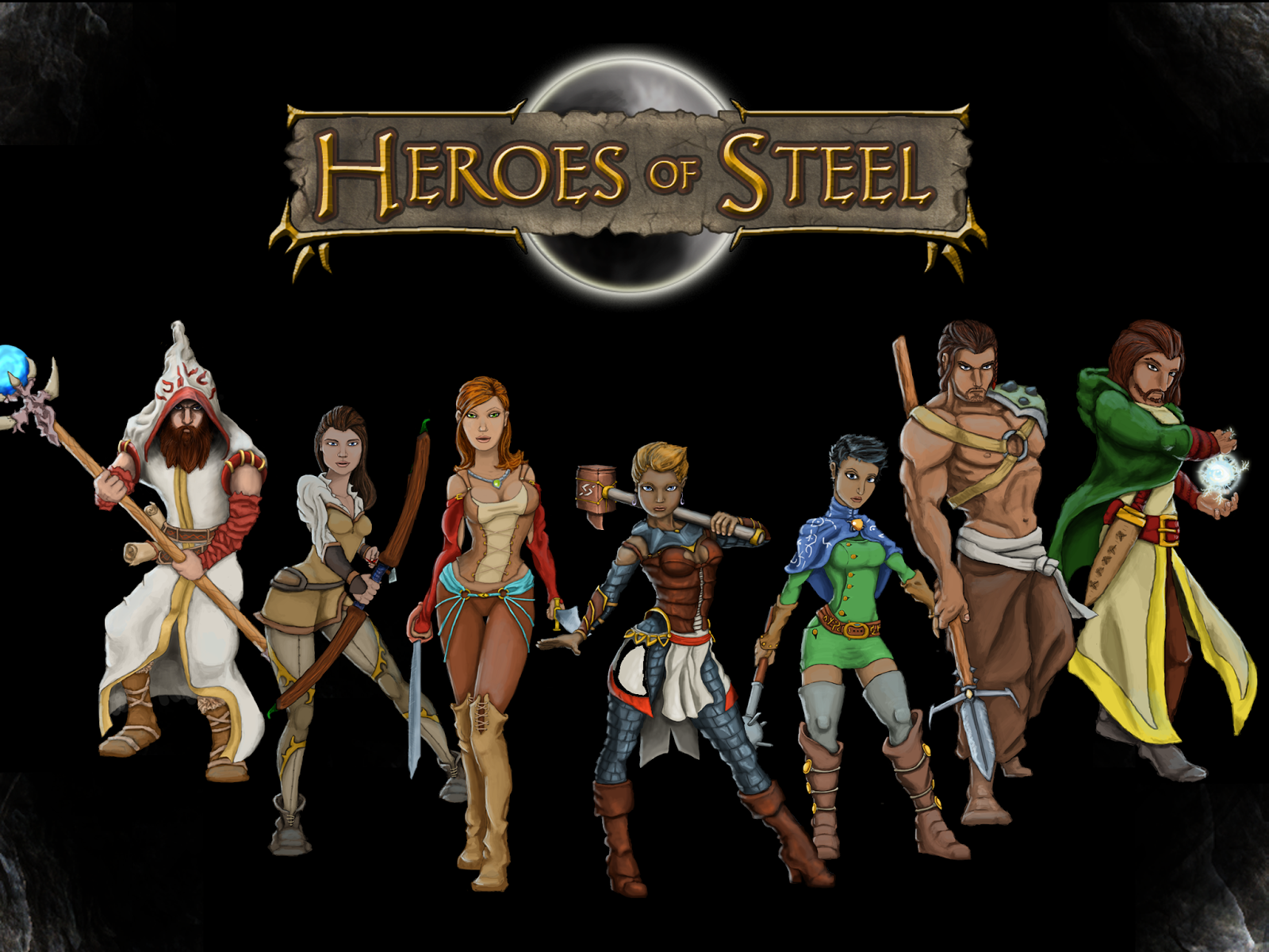 Heroes Of Steel RPG High Quality Background on Wallpapers Vista