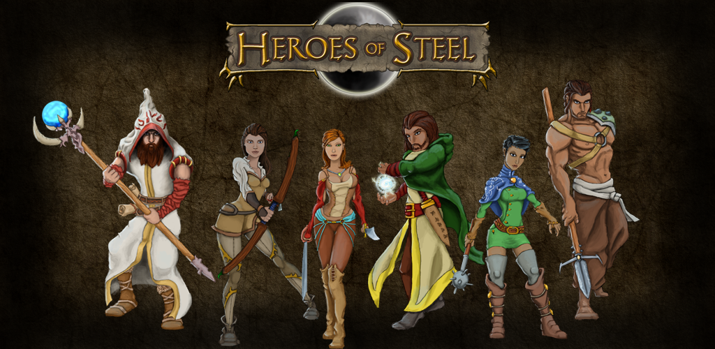 Heroes Of Steel RPG Backgrounds, Compatible - PC, Mobile, Gadgets| 1024x500 px