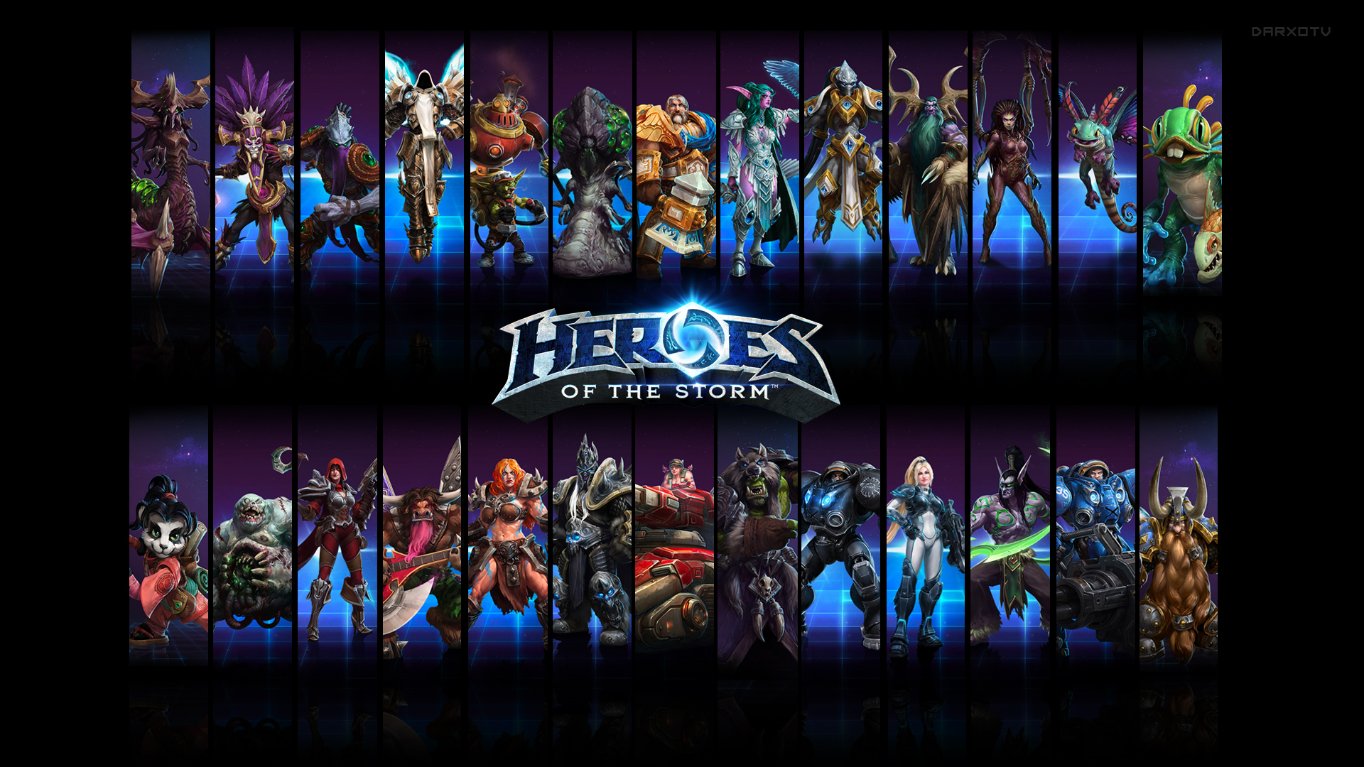 Heroes Of The Storm Backgrounds, Compatible - PC, Mobile, Gadgets  1920x1080 px