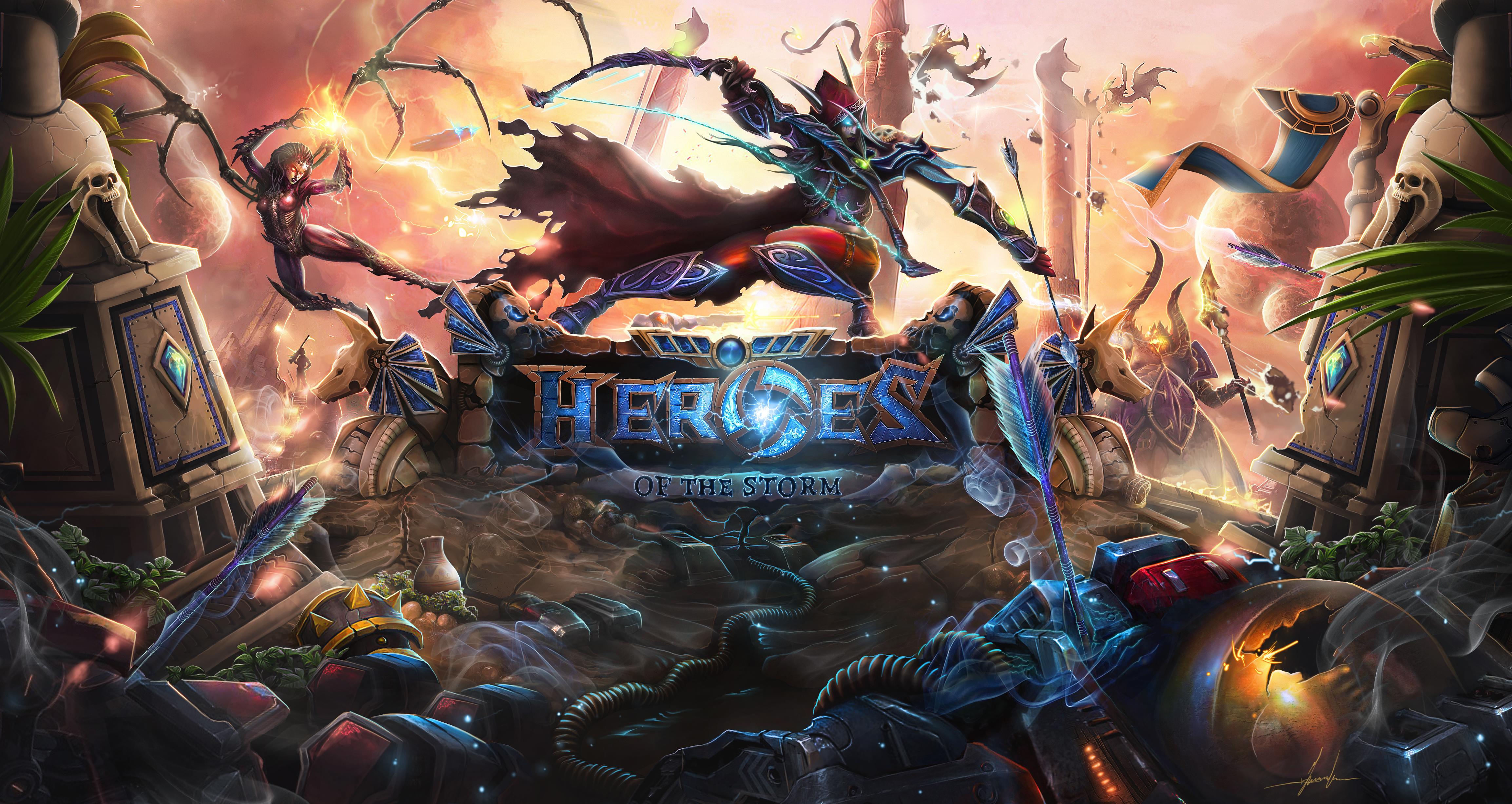 Heroes Of The Storm HD wallpapers, Desktop wallpaper - most viewed