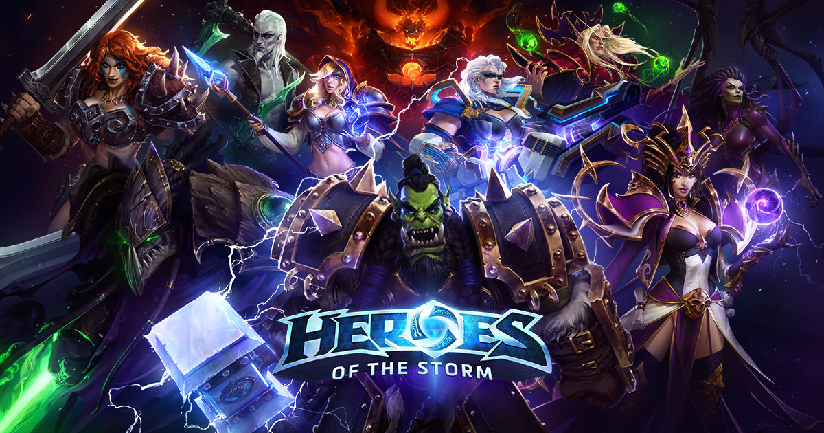 Nice wallpapers Heroes Of The Storm 1200x630px