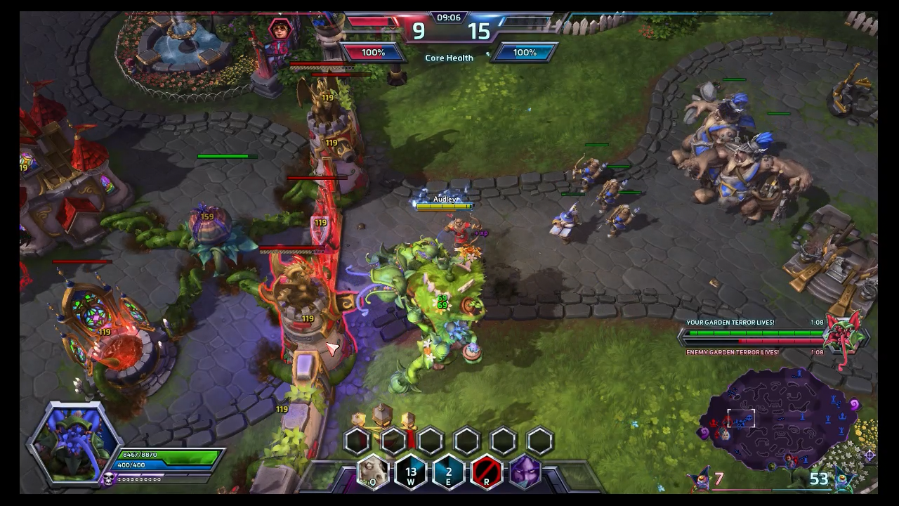 HD Quality Wallpaper   Collection: Video Game, 1280x720 Heroes Of The Storm