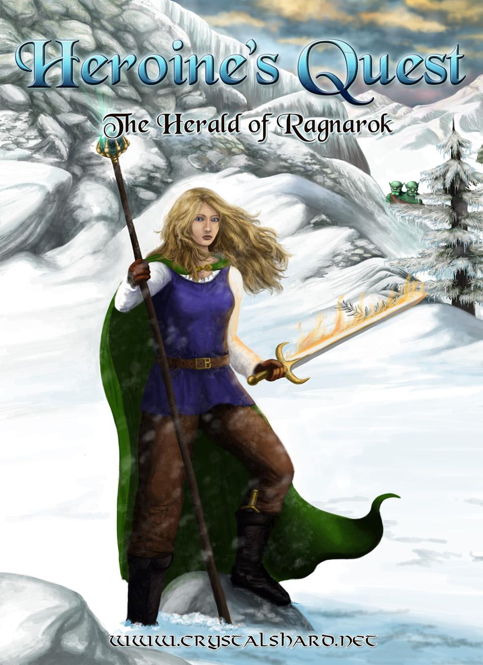 High Resolution Wallpaper | Heroine's Quest: The Herald Of Ragnarok 960x1320 px