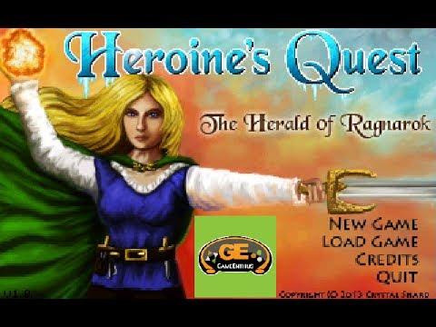 High Resolution Wallpaper | Heroine's Quest: The Herald Of Ragnarok 480x360 px