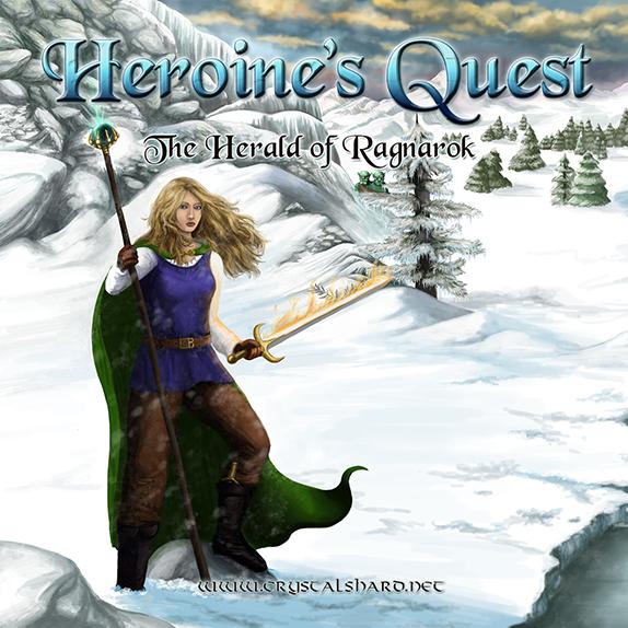 Nice Images Collection: Heroine's Quest: The Herald Of Ragnarok Desktop Wallpapers