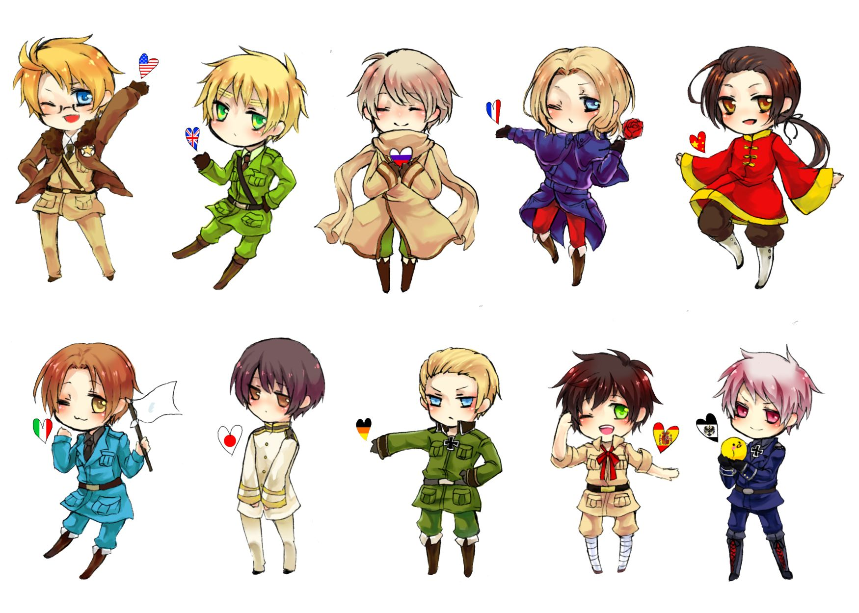 Hetalia: Axis Powers Backgrounds, Compatible - PC, Mobile, Gadgets| 1750x1250 px