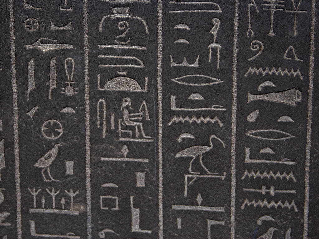 Hieroglyphs Pics, Artistic Collection