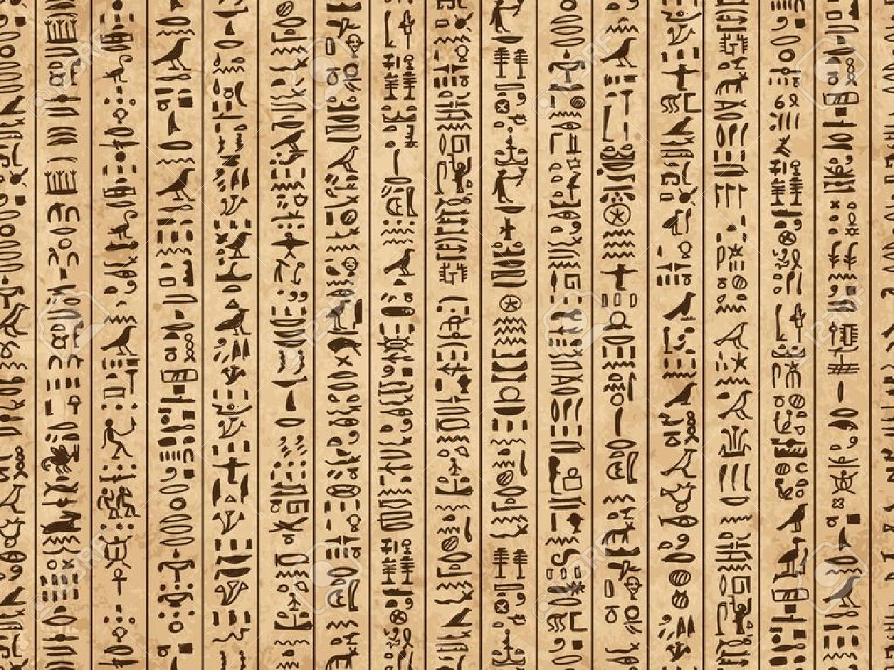 High Resolution Wallpaper | Hieroglyphs 1300x975 px