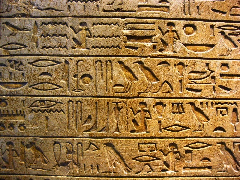 Hieroglyphs Pics, Man Made Collection