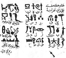 HD Quality Wallpaper | Collection: Man Made, 220x193 Hieroglyphs