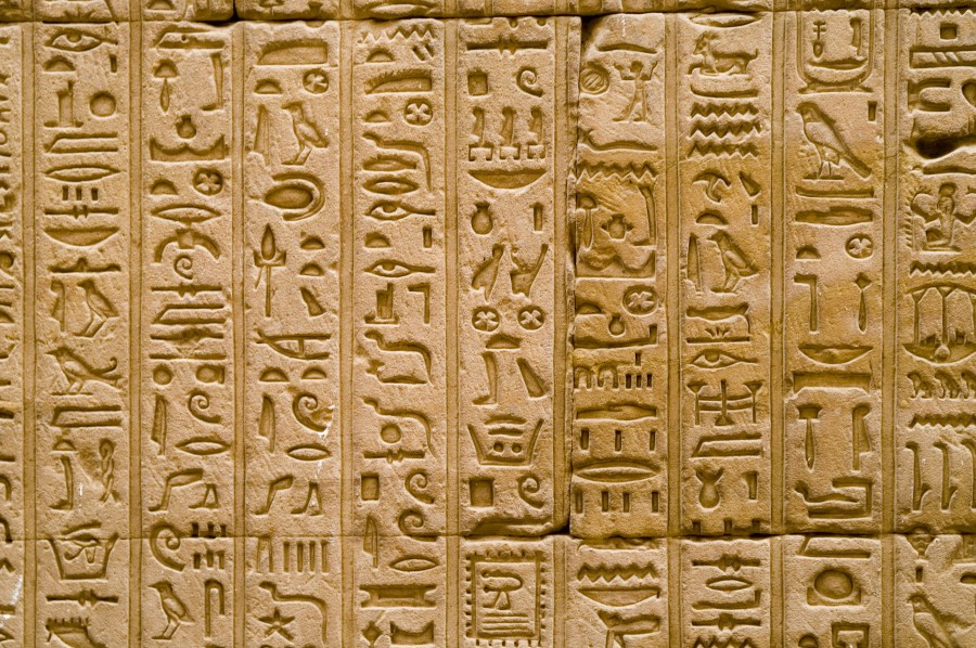 High Resolution Wallpaper | Hieroglyphs 900x598 px