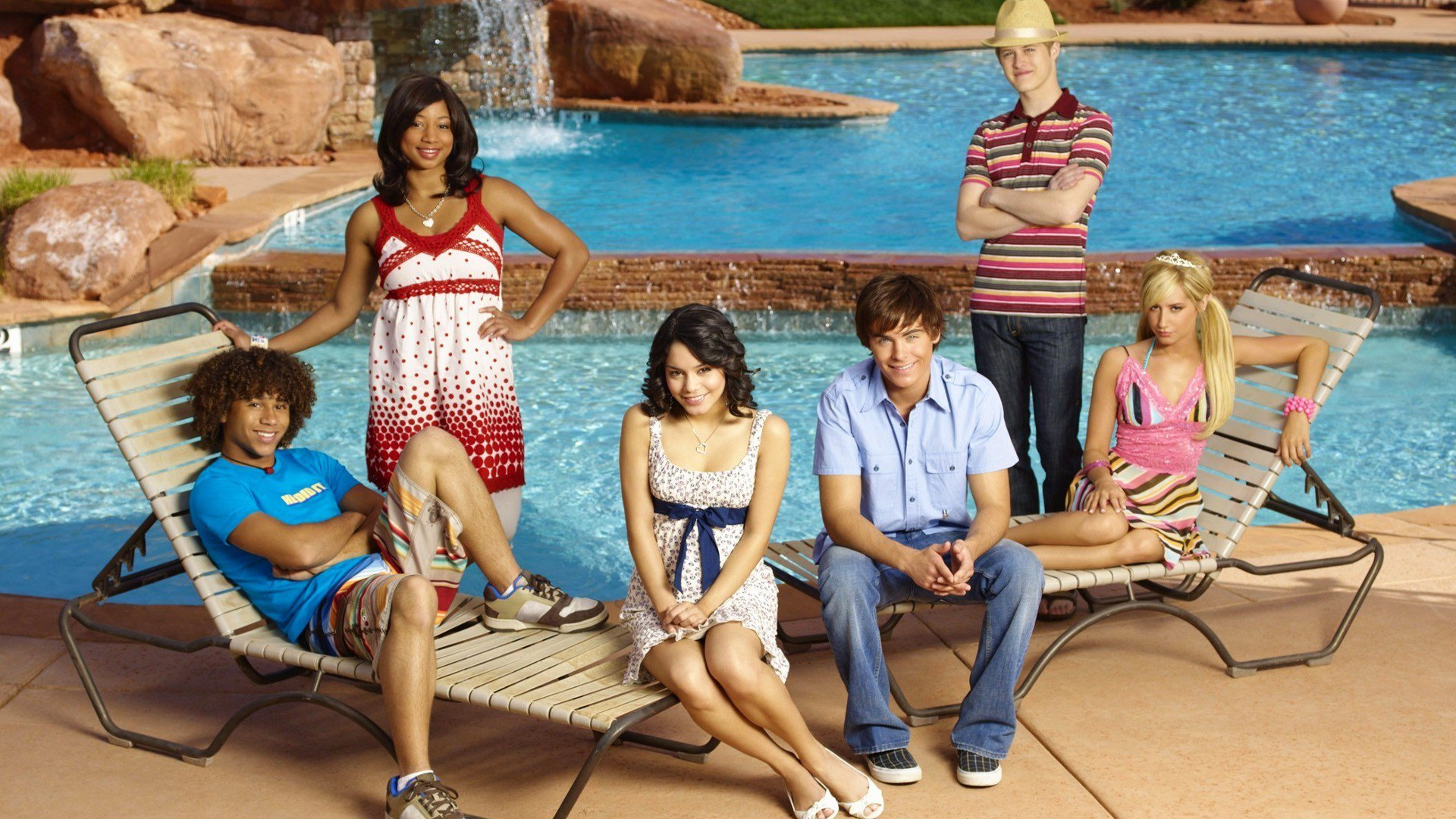 HQ High School Musical 2 Wallpapers | File 409.85Kb