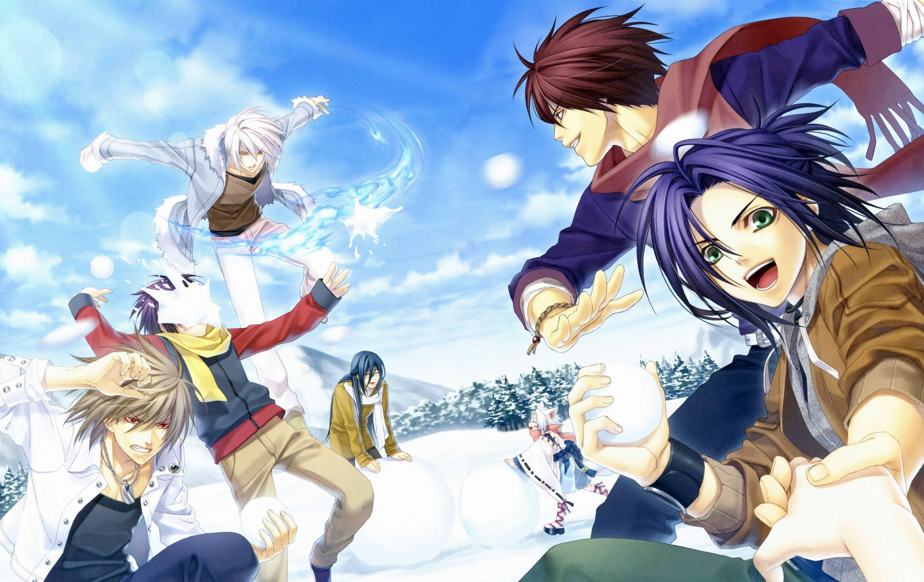 HD Quality Wallpaper | Collection: Anime, 2984x1880 Hiiro No Kakera