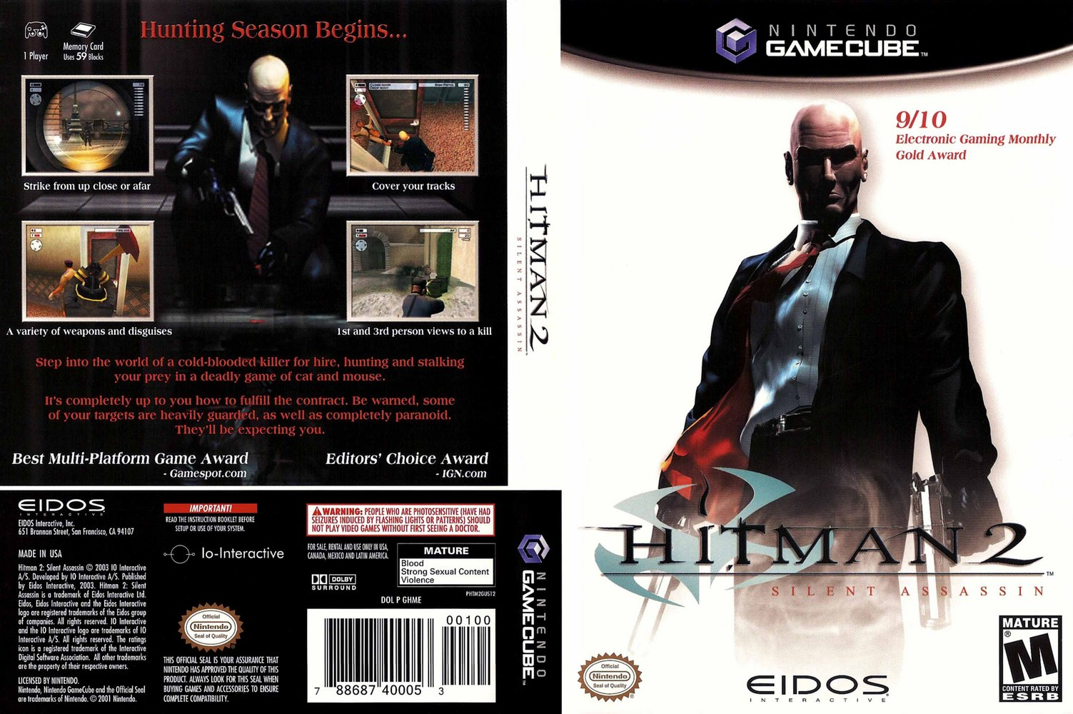 Hitman 2: Silent Assassin High Quality Background on Wallpapers Vista