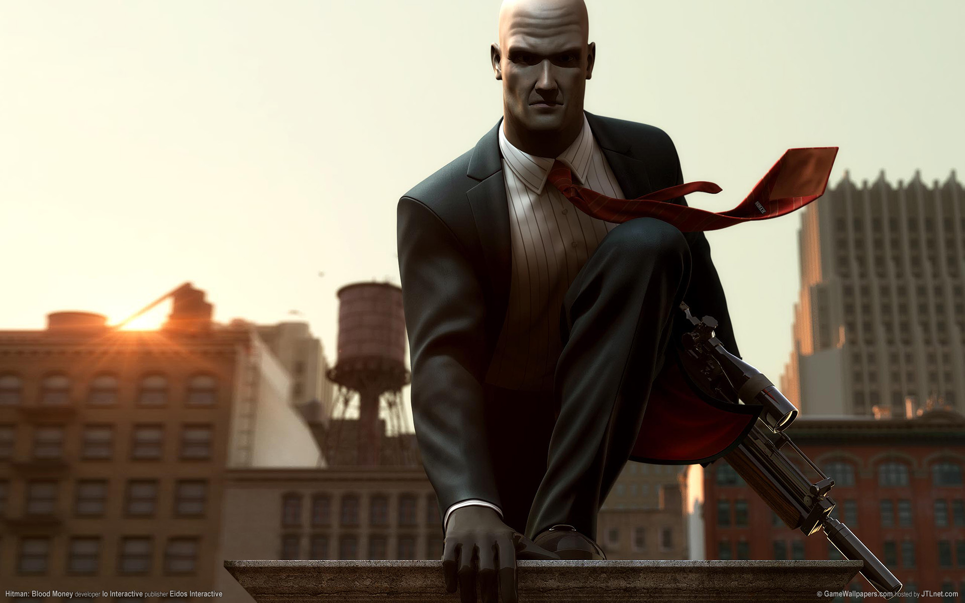 HD Quality Wallpaper   Collection: Video Game, 1920x1200 Hitman: Blood Money