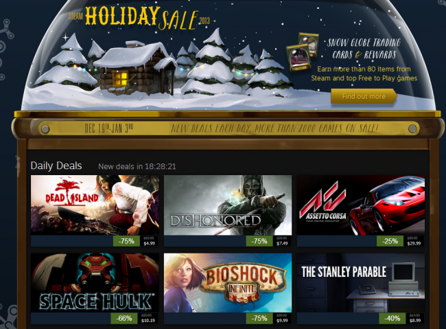 HQ Holiday Sale 2013 Wallpapers | File 425.88Kb