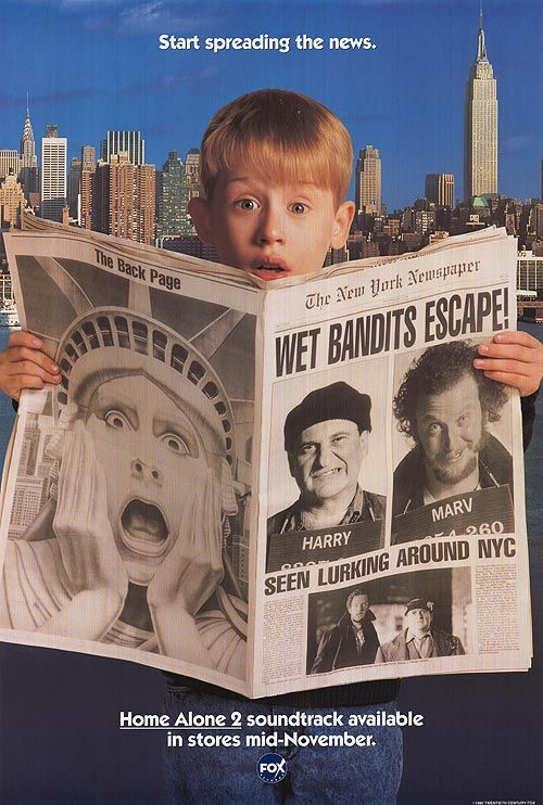 Home Alone 2: Lost In New York High Quality Background on Wallpapers Vista