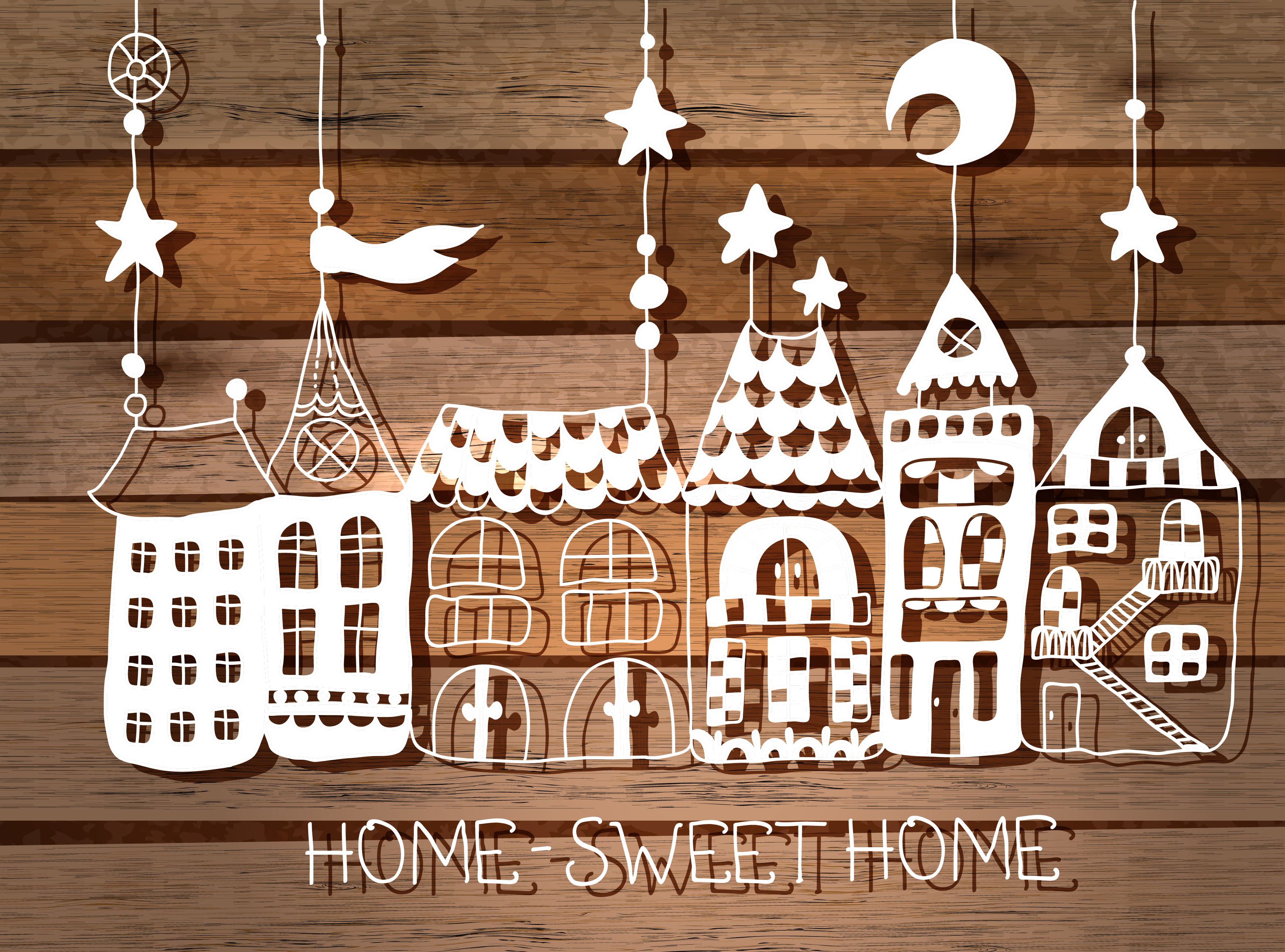 Nice wallpapers Home Sweet Home 3481x2580px