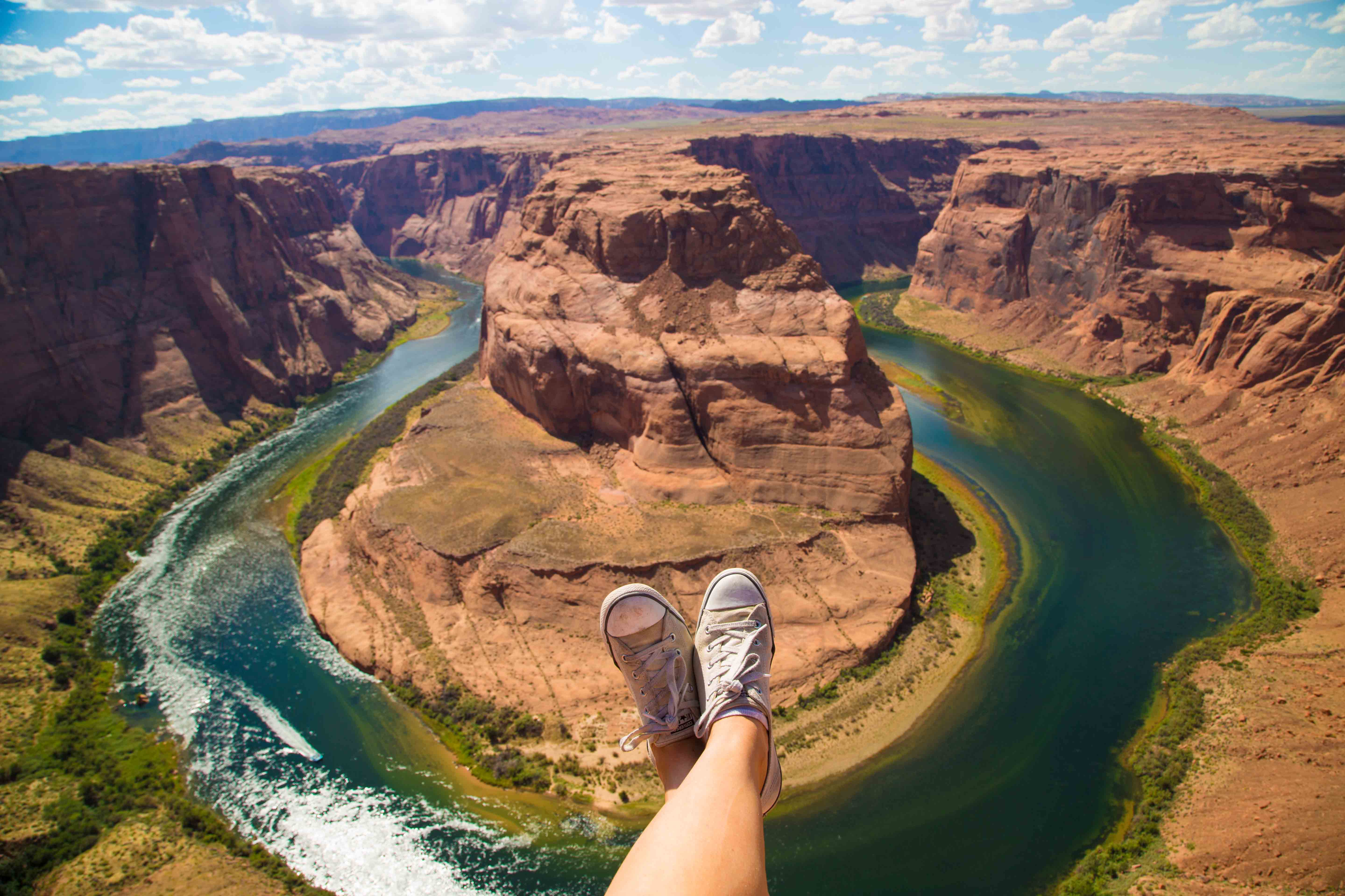 Nice Images Collection: Horseshoe Bend Desktop Wallpapers