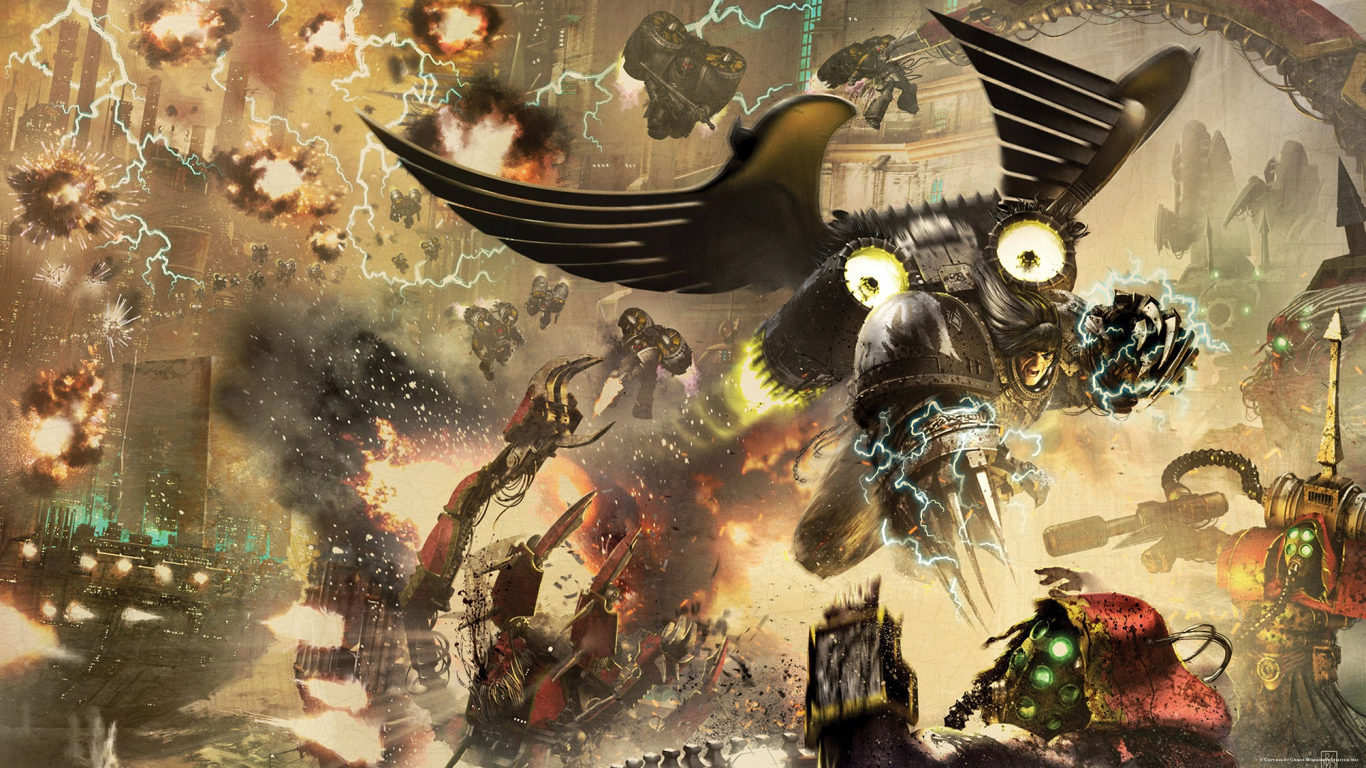 Horus Heresy High Quality Background on Wallpapers Vista