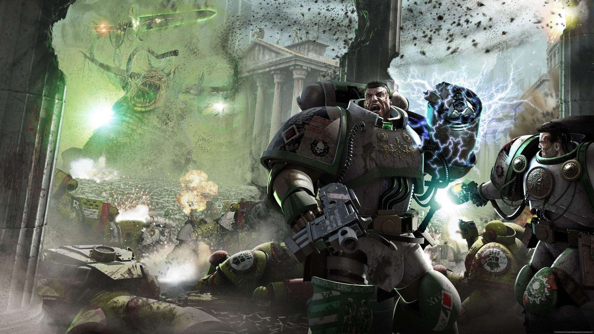 HD Quality Wallpaper | Collection: Sci Fi, 1920x1080 Horus Heresy