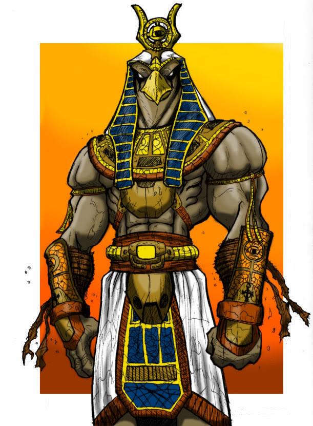 HD Quality Wallpaper | Collection: Fantasy, 611x830 Horus
