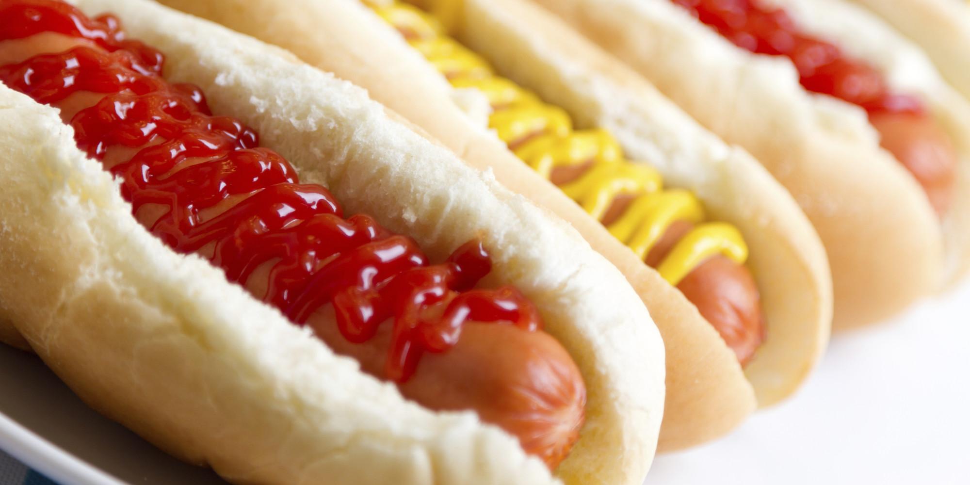 High Resolution Wallpaper | Hot Dog 2000x1000 px