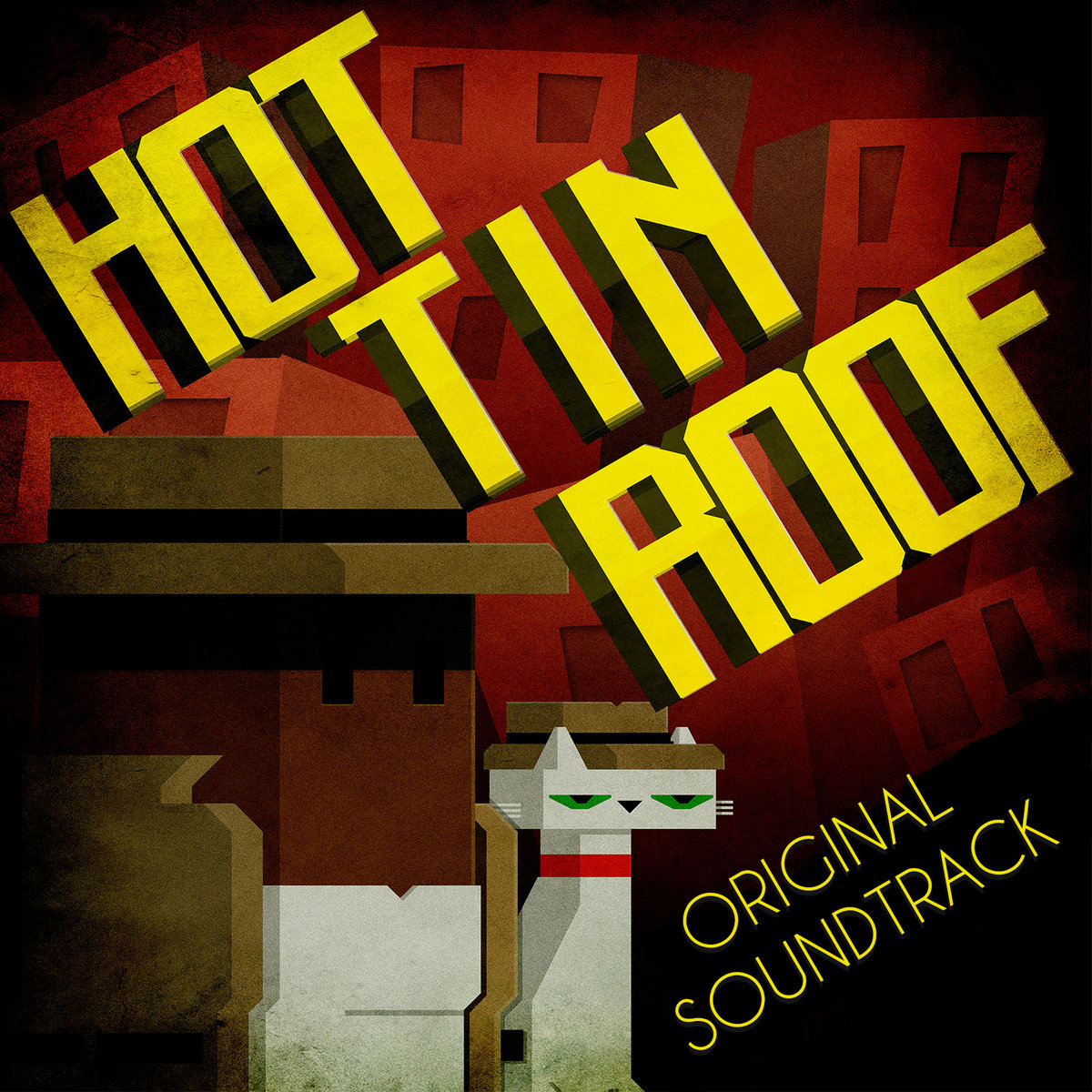 HQ Hot Tin Roof: The Cat That Wore A Fedora Wallpapers | File 415.09Kb