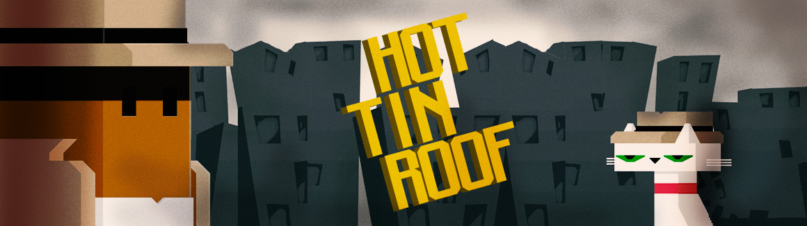 Hot Tin Roof: The Cat That Wore A Fedora Backgrounds on Wallpapers Vista