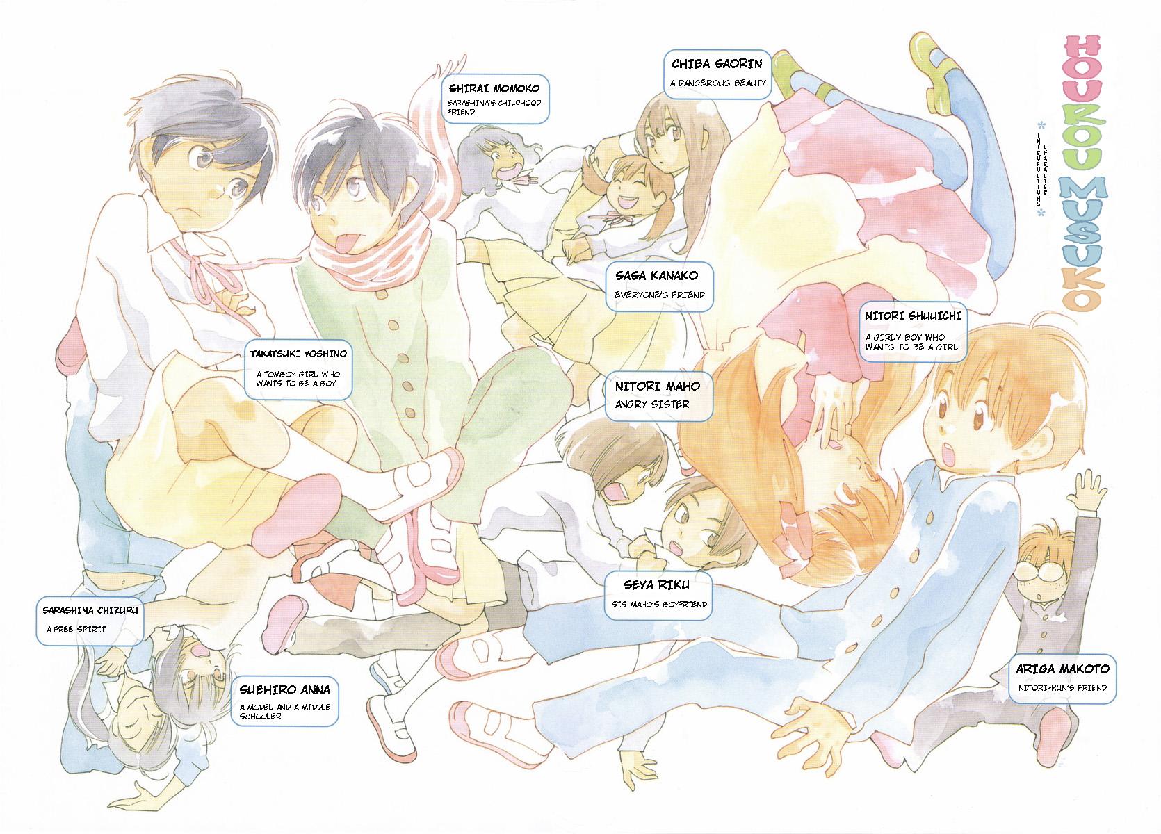 1670x1200 > Hourou Musuko Wallpapers