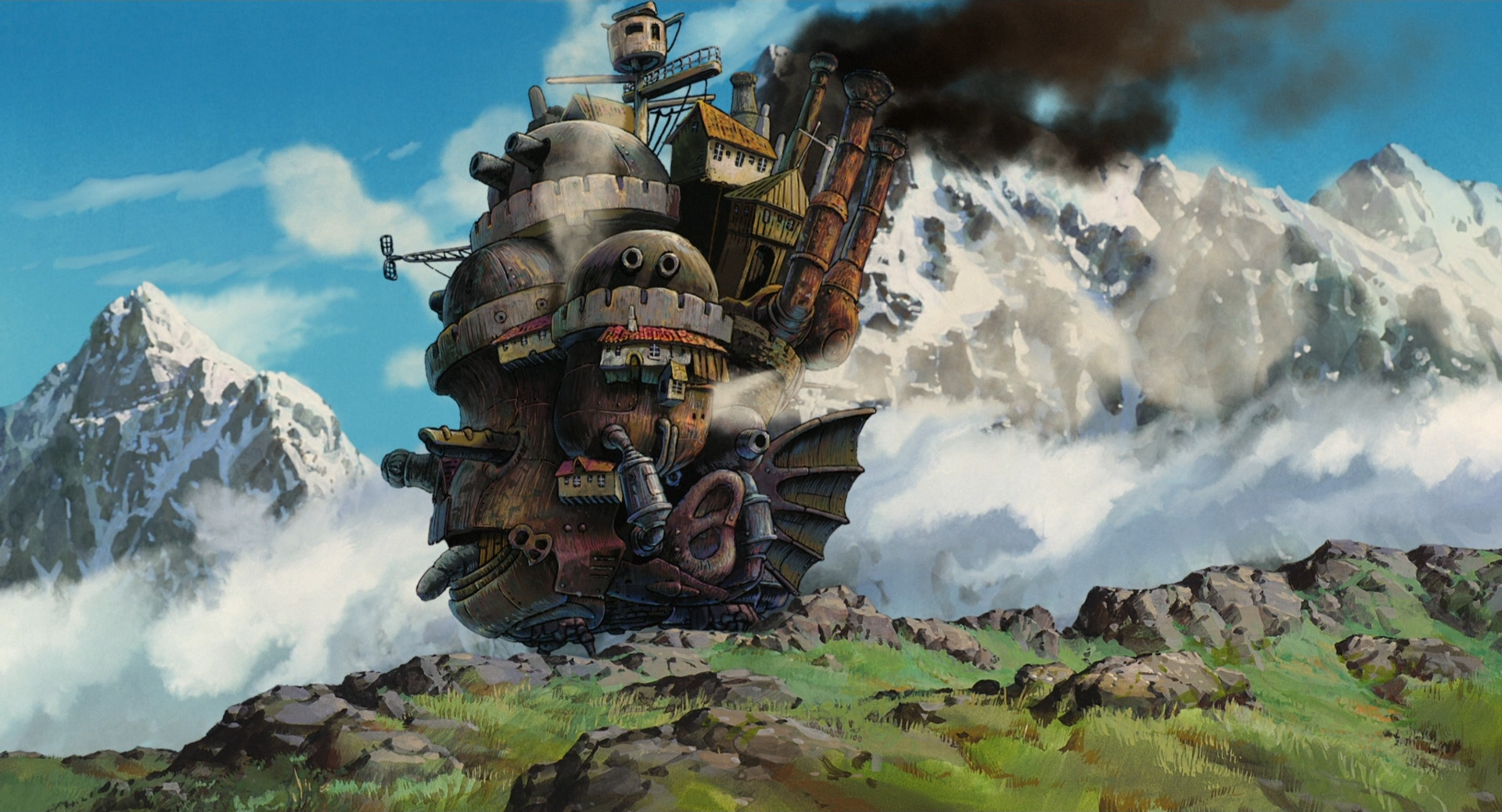Howl S Moving Castle Wallpapers Movie Hq Howl S Moving Castle