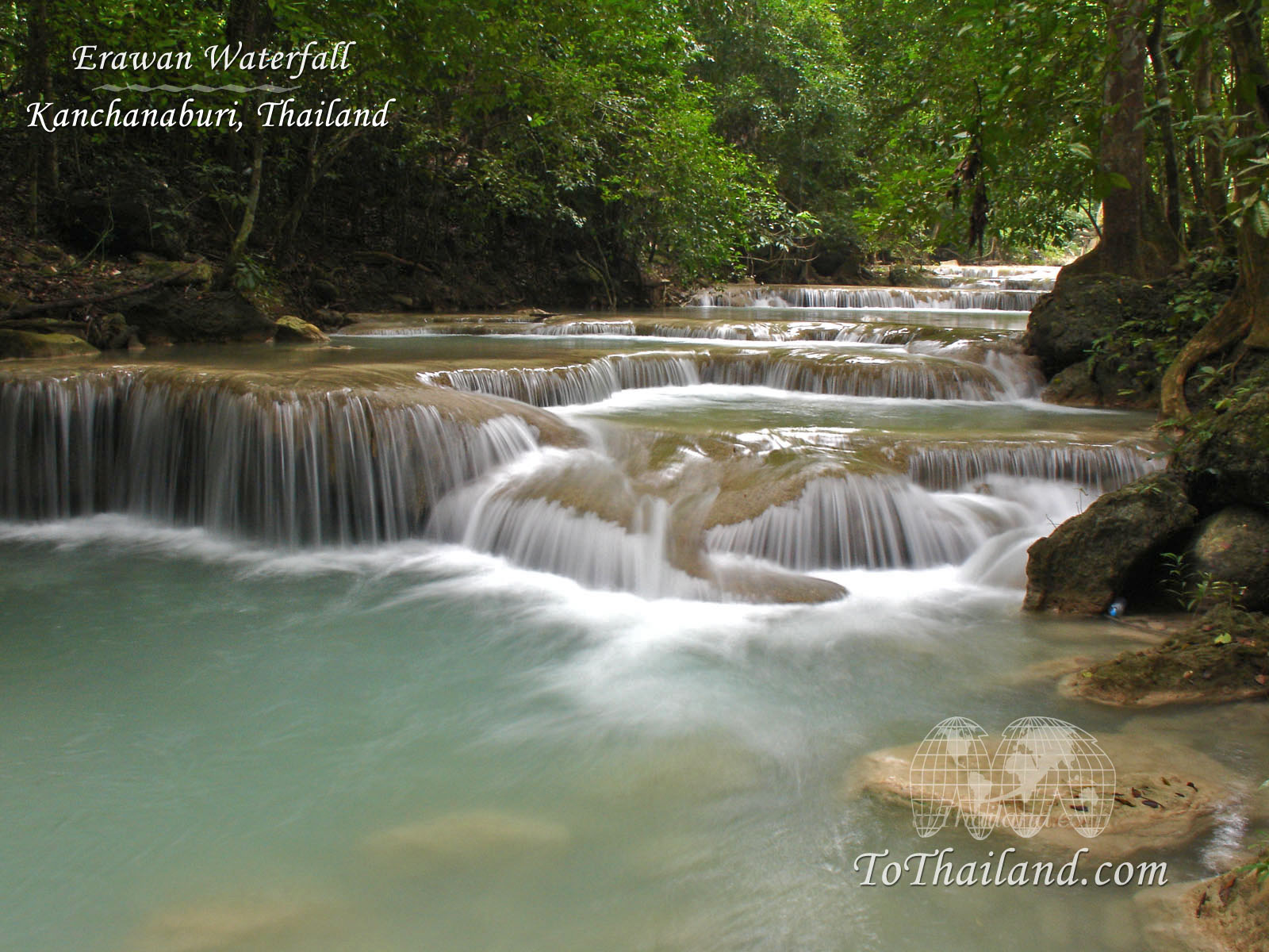 1600x1200 > Huai Mae Kamin Waterfall Wallpapers