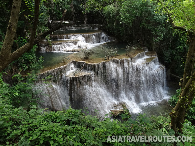 Huai Mae Kamin Waterfall High Quality Background on Wallpapers Vista