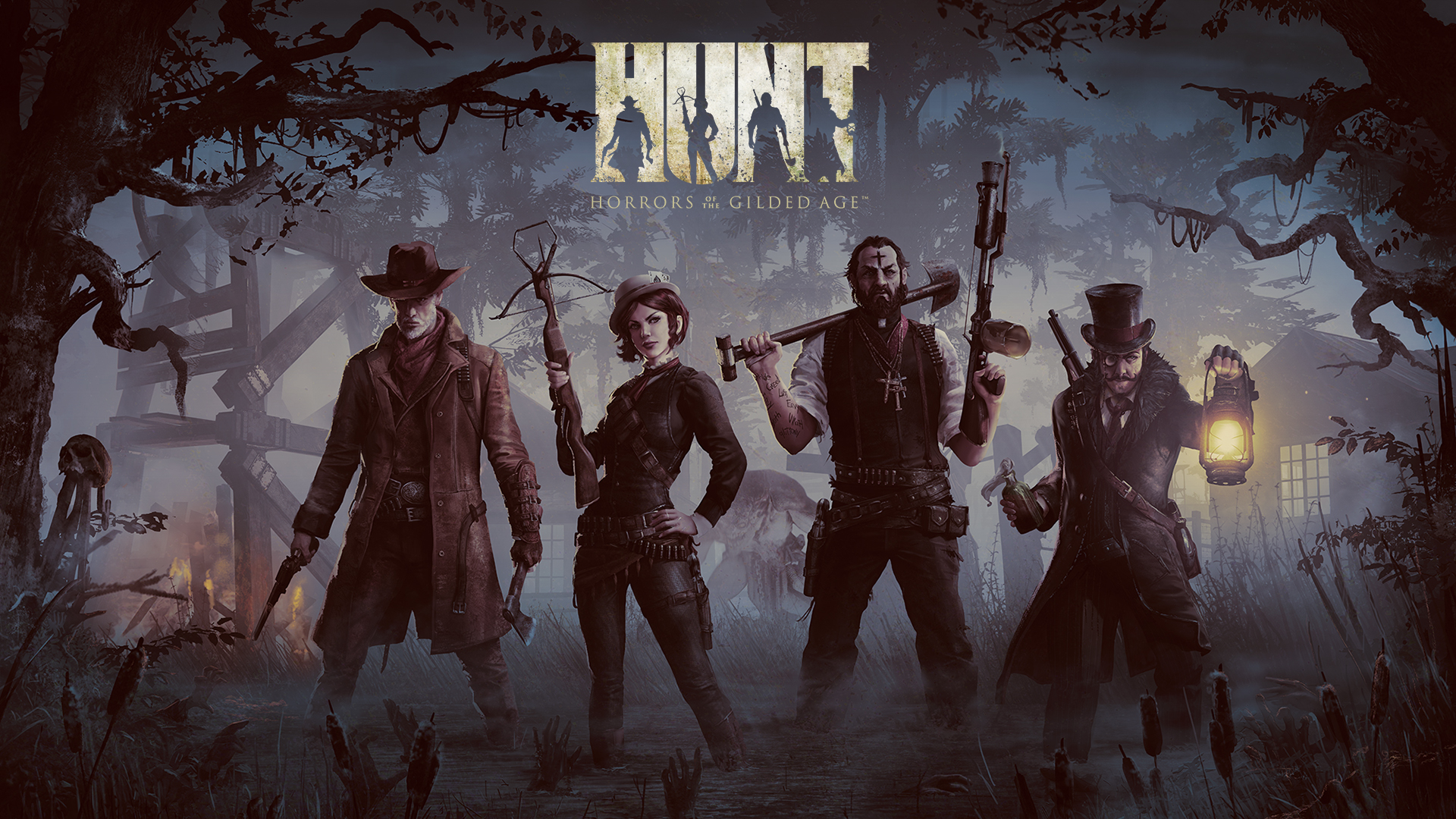 HD Quality Wallpaper | Collection: Video Game, 1920x1080 HUNT: Horrors Of The Gilded Age