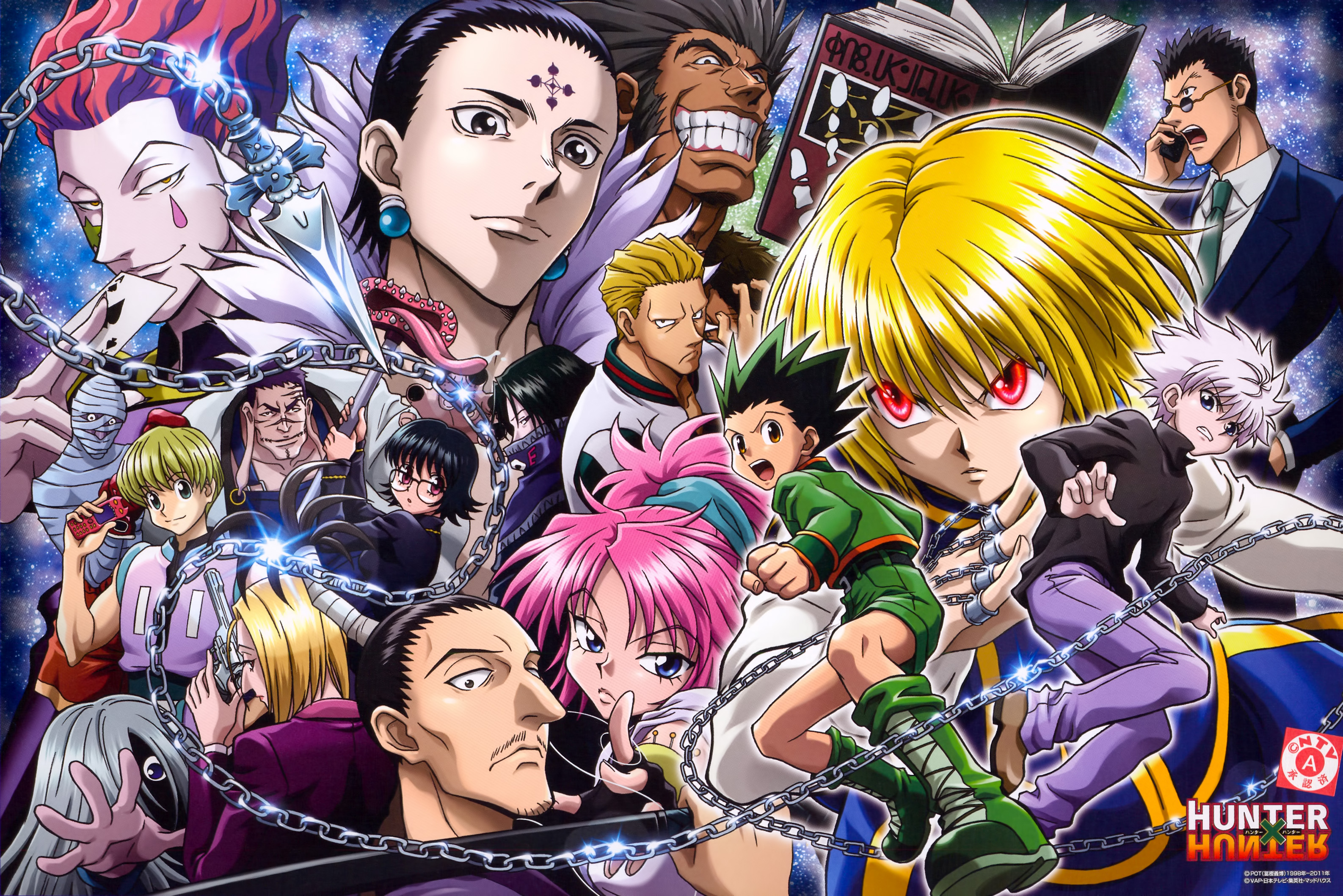 Hunter X Hunter Backgrounds, Compatible - PC, Mobile, Gadgets| 3173x2117 px