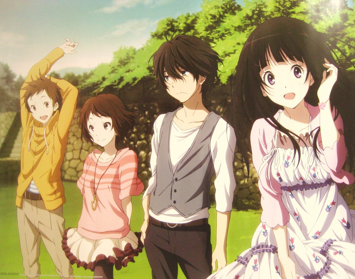 Nice Images Collection: Hyouka Desktop Wallpapers