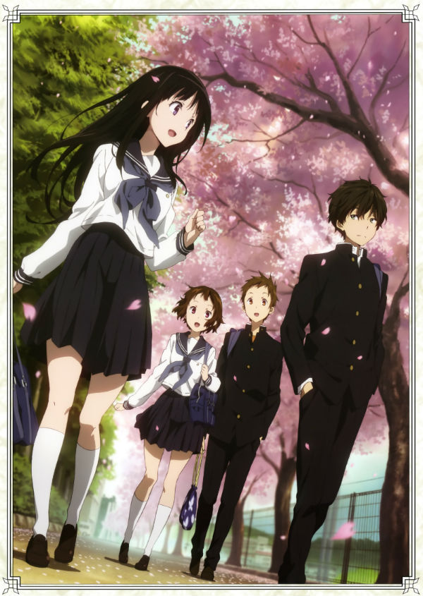 HD Quality Wallpaper | Collection: Anime, 600x845 Hyouka