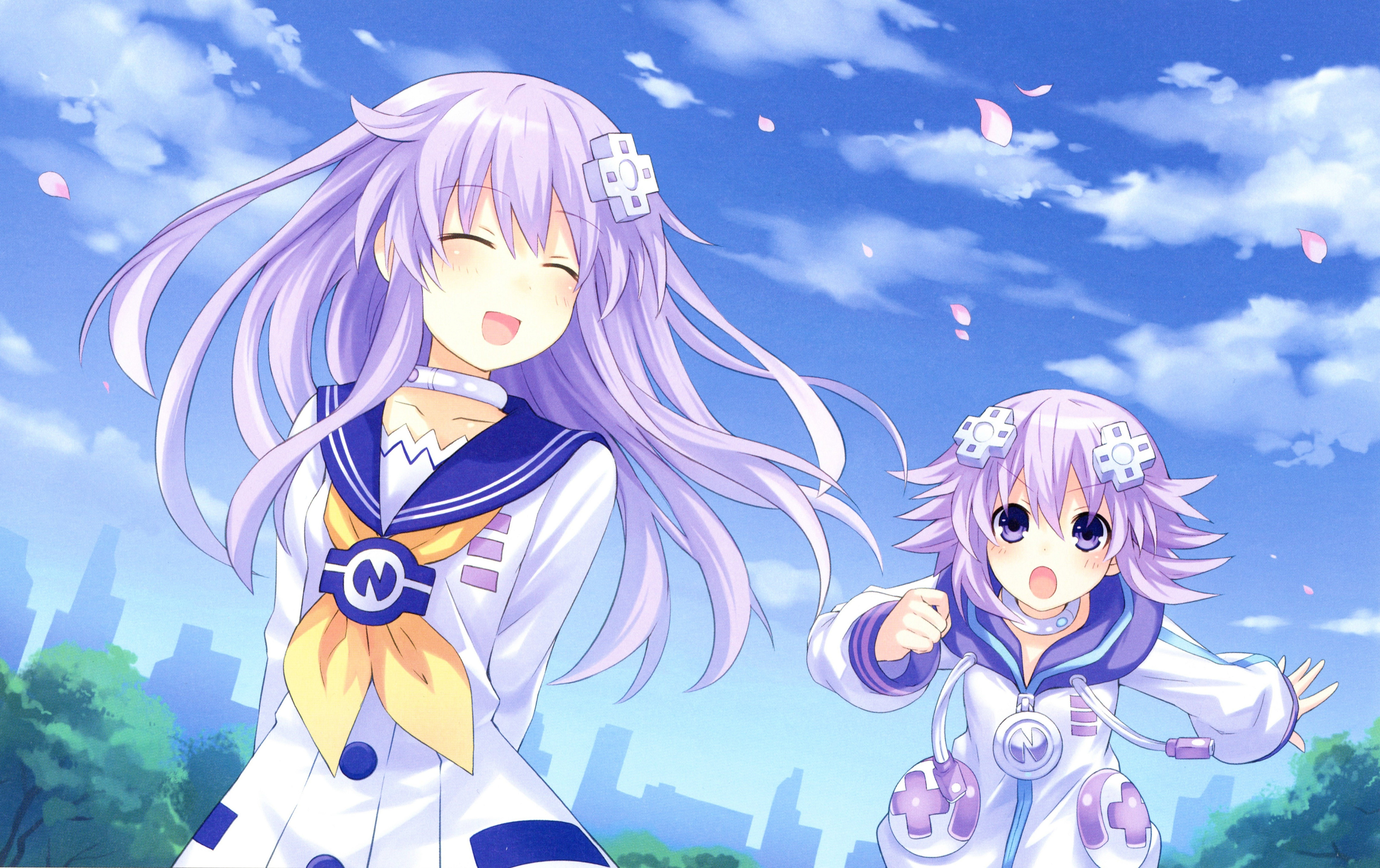 HD Quality Wallpaper | Collection: Video Game, 6453x4060 Hyperdimension Neptunia