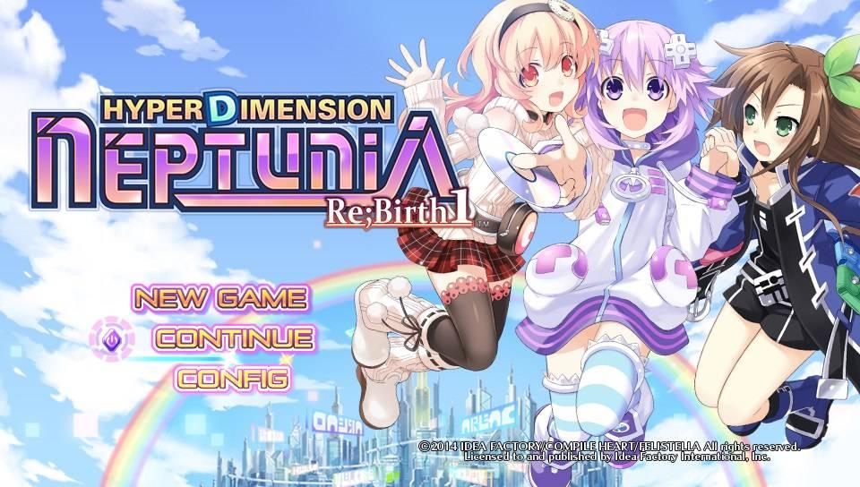 Hyperdimension Neptunia Re;Birth1 Pics, Video Game Collection