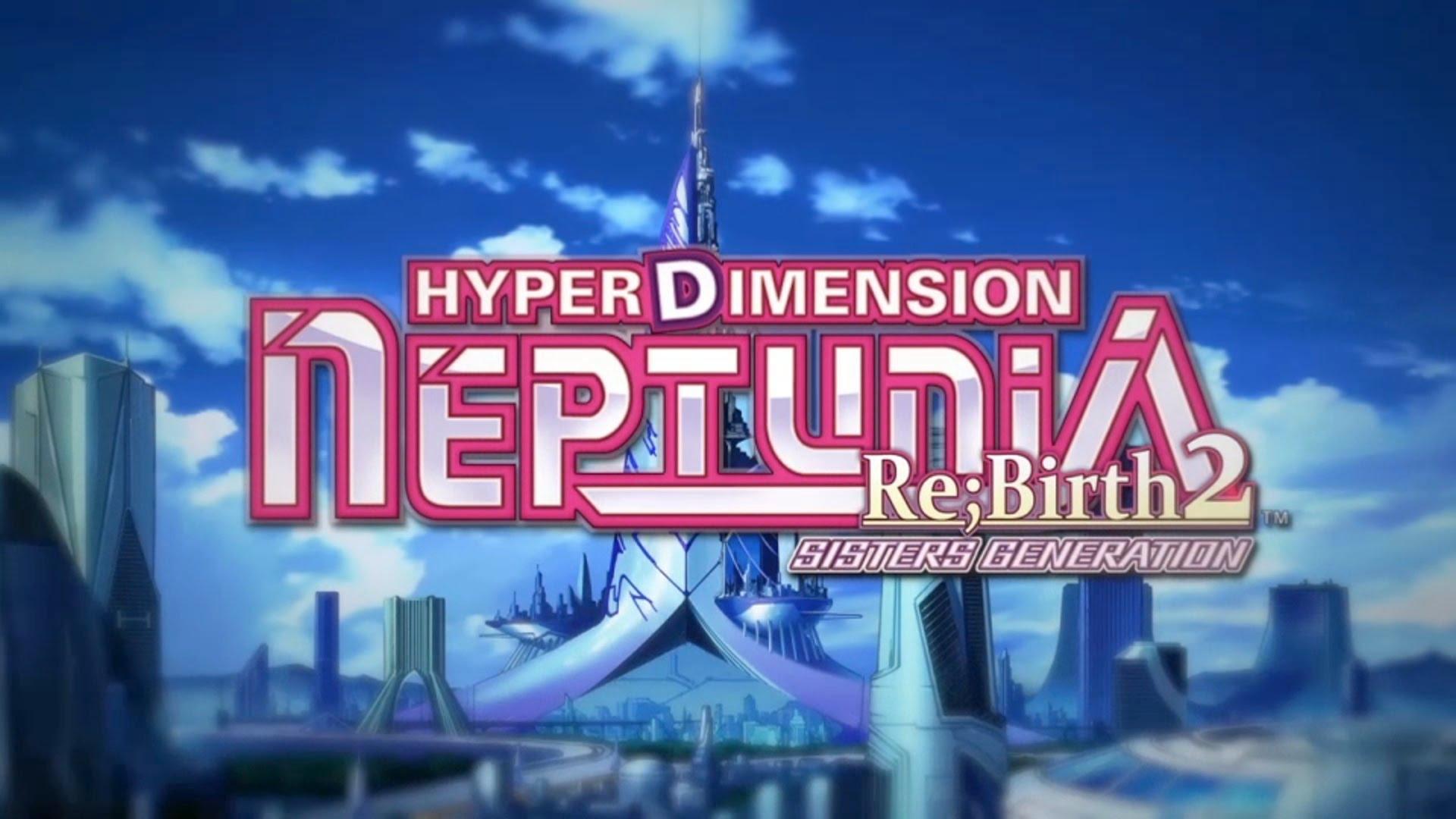 Nice wallpapers Hyperdimension Neptunia Re;Birth2 Sisters Generation 1920x1080px