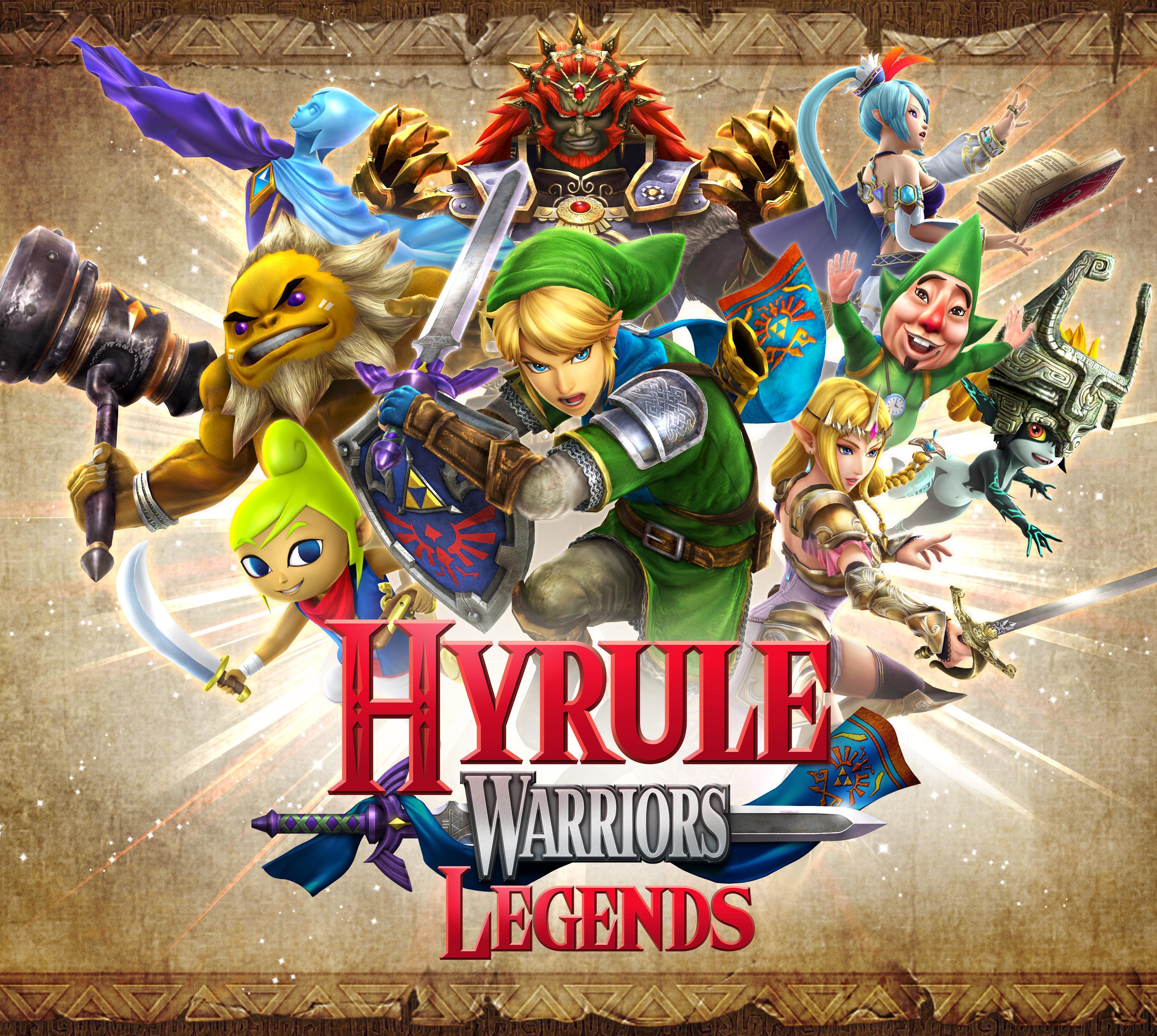 Hyrule Warriors Backgrounds, Compatible - PC, Mobile, Gadgets| 4467x4000 px