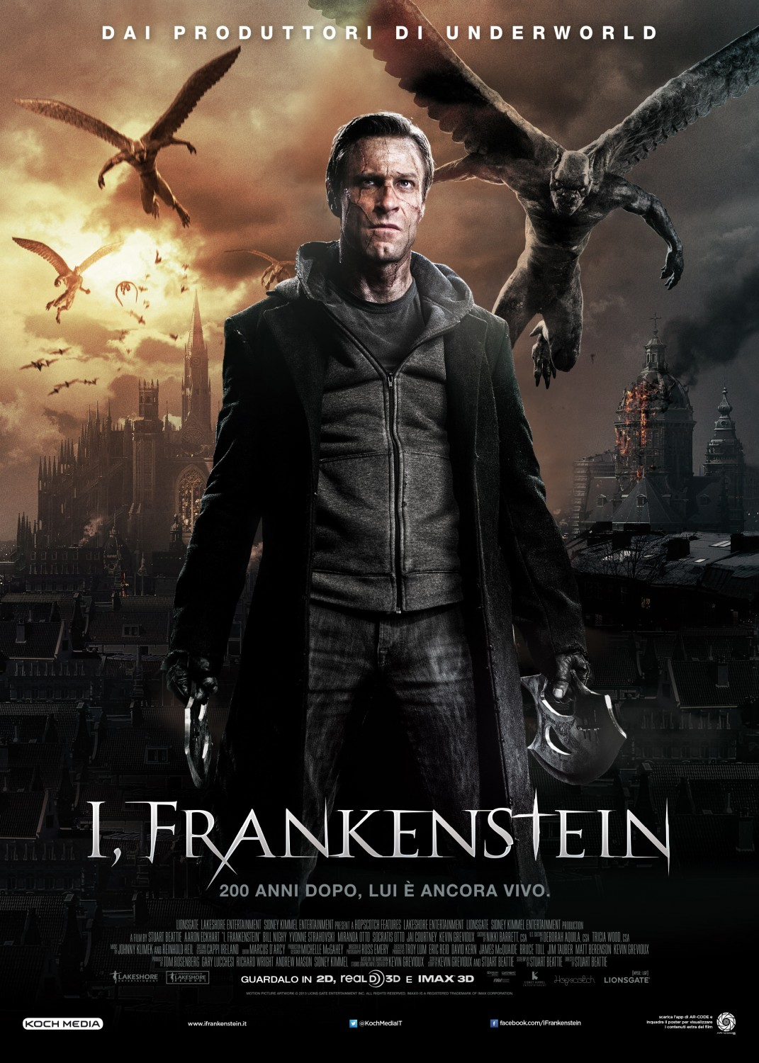 HD Quality Wallpaper | Collection: Movie, 1071x1500 I, Frankenstein