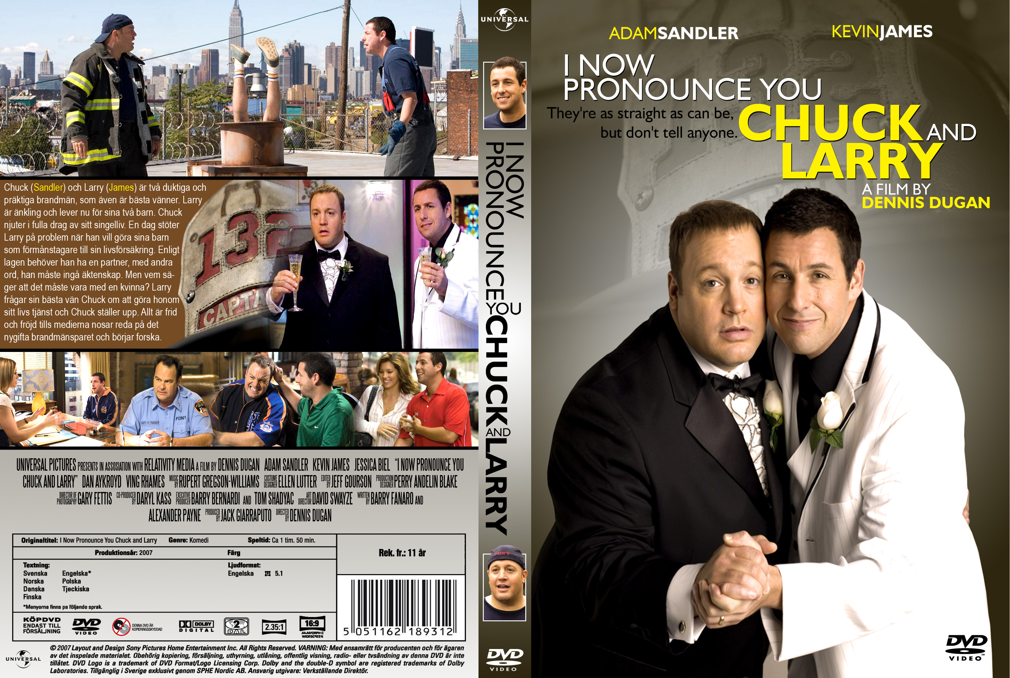 Images of I Now Pronounce You Chuck & Larry   3240x2175
